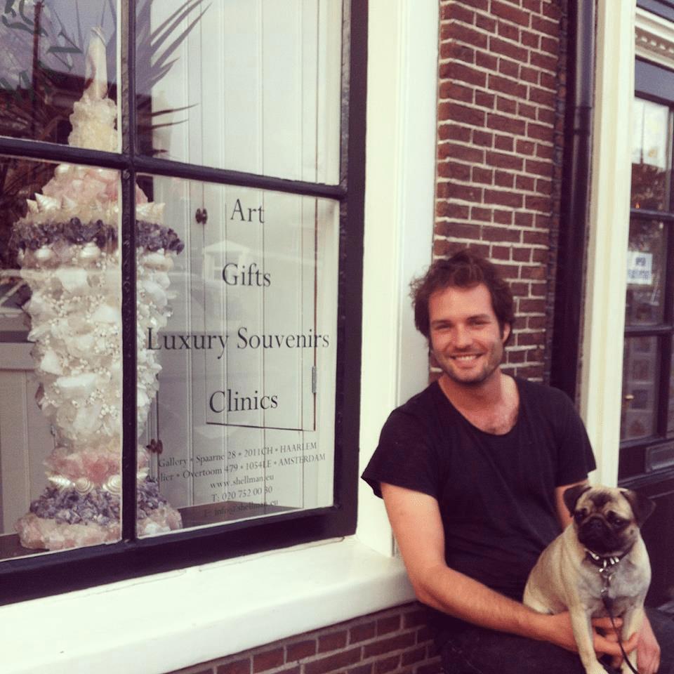 Gietvloer showroom Haarlem