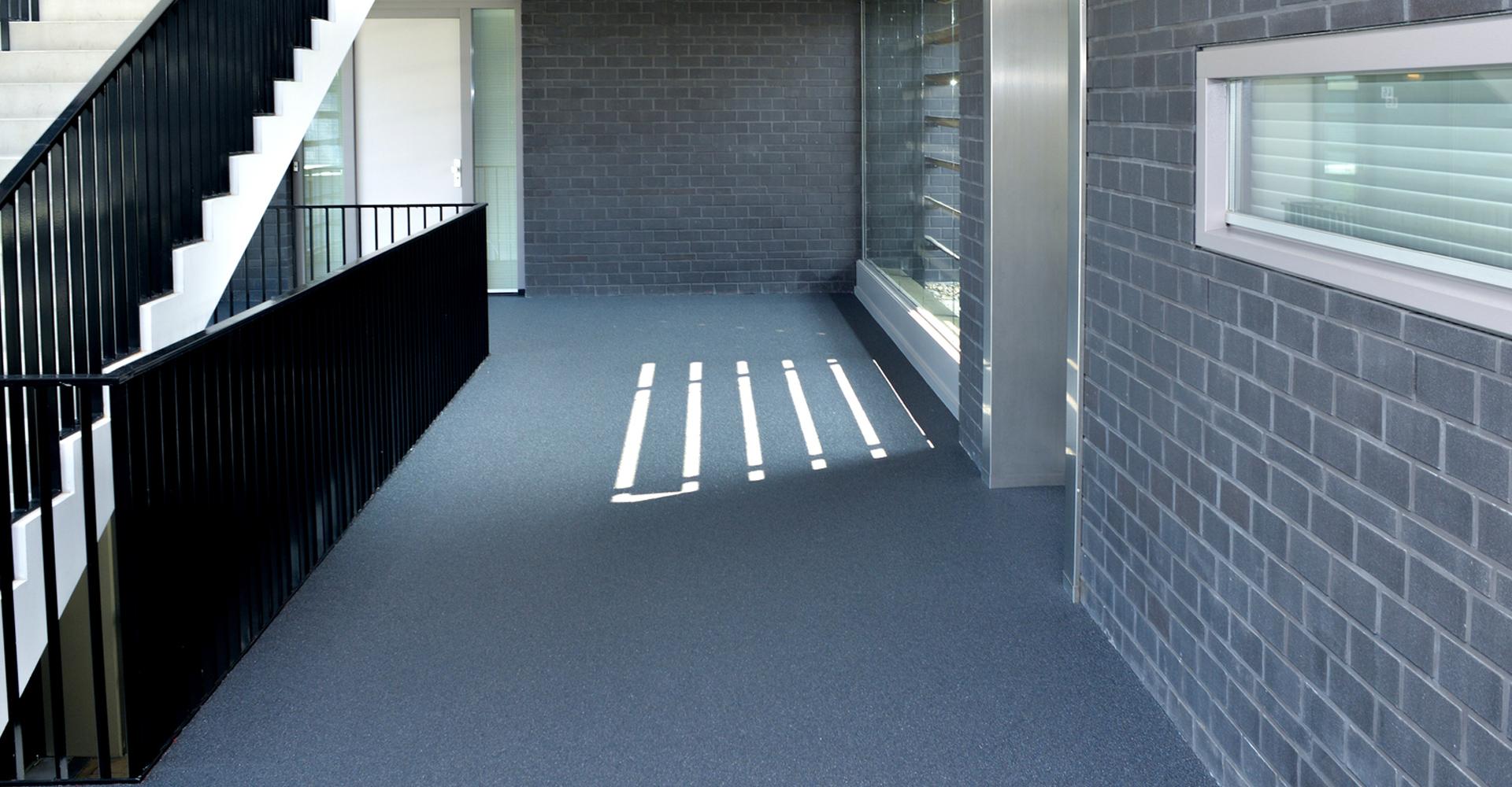 Galerijvloer appartementencomplex