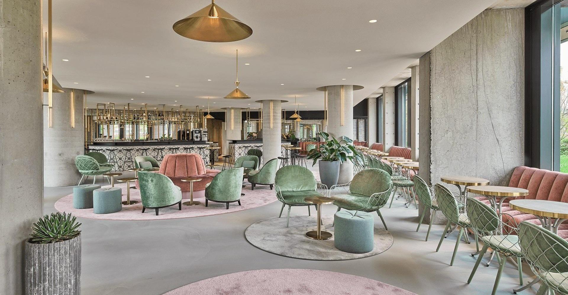 Hotelvloer lobby