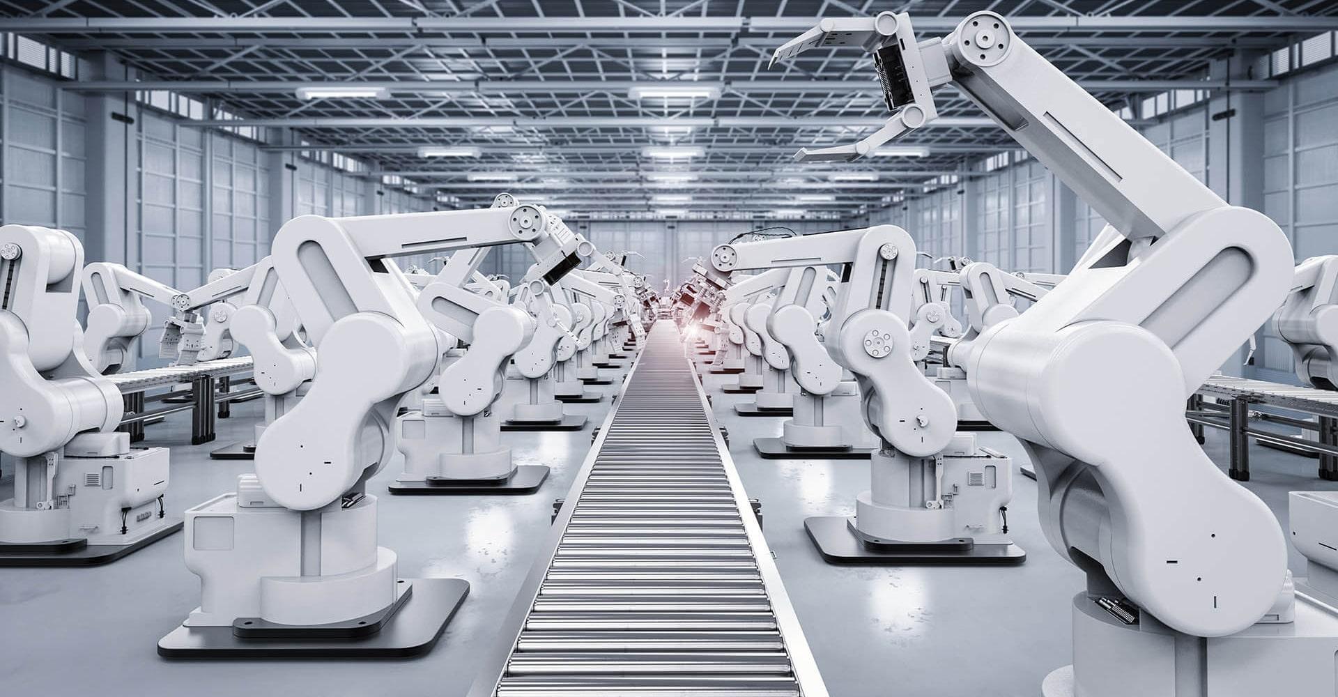 Productievloer industrieel