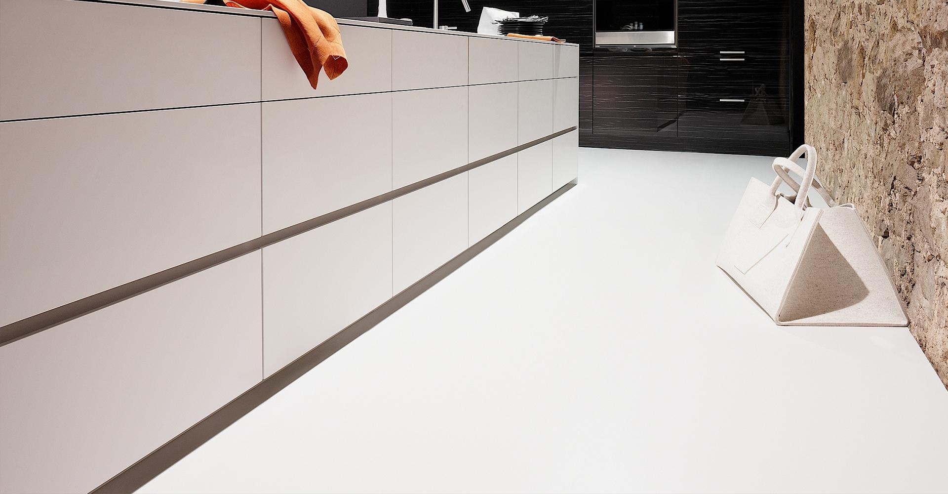 Designvloer keuken