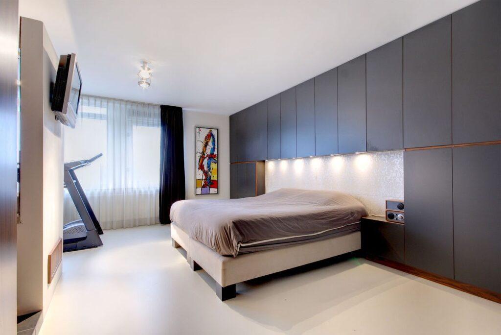 Gietvloer slaapkamer