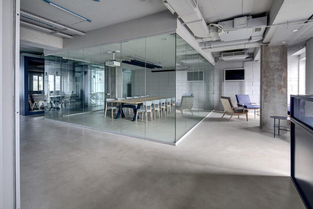 Kantoorvloer betonvloer