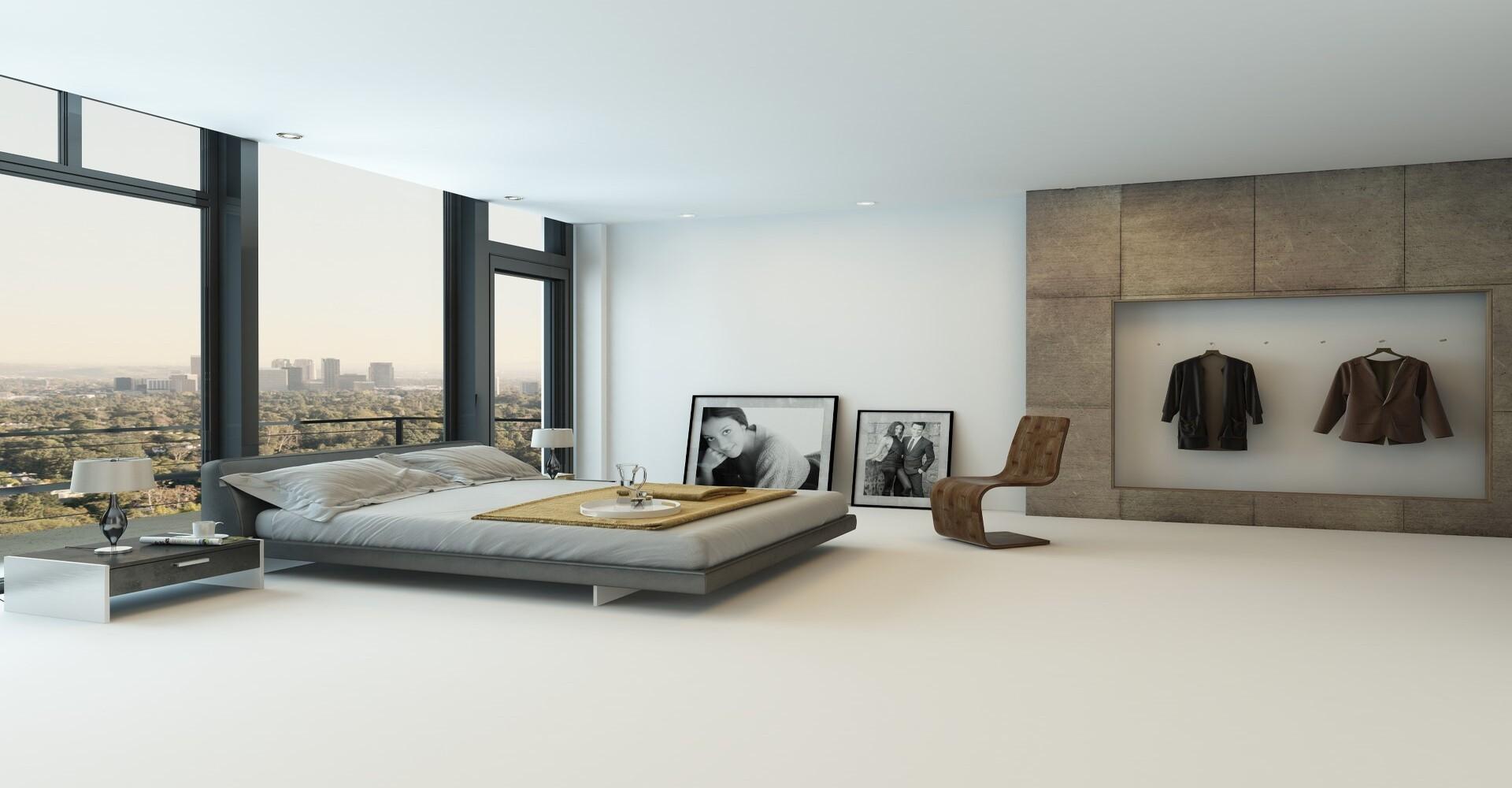 Gietvloer appartement