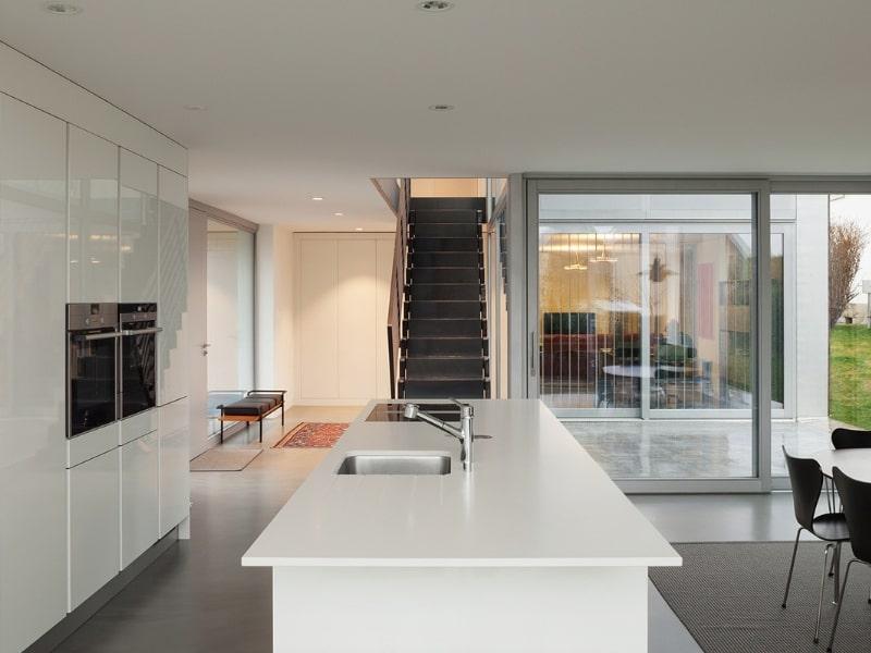 Gietvloer voor een woning in Rotterdam