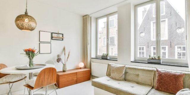 Gietvloer voor een woning in Zaandam
