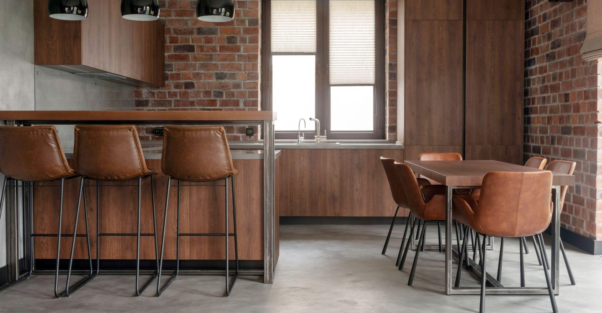 Betonvloer in de keuken
