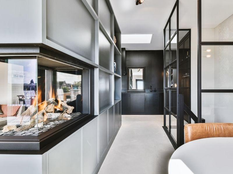 Woonbeton vloer voor woning in Weesp